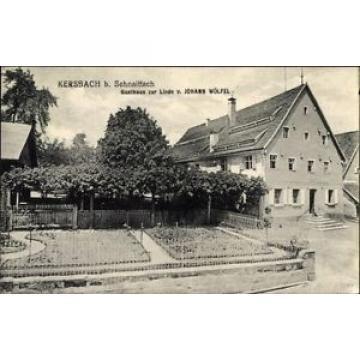 Ak Kersbach Neunkirchen am Sand, Gasthaus zur Linde von Johann... - 10074675
