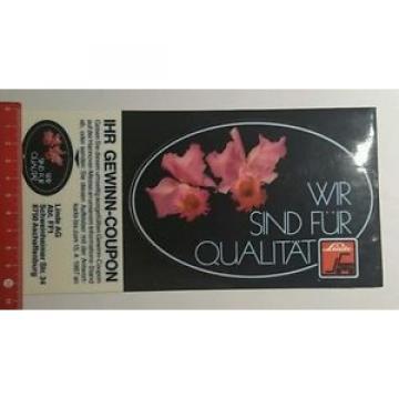 Aufkleber/Sticker: wir sind für Qualität Linde ihr Gewinncoupon (200716130)