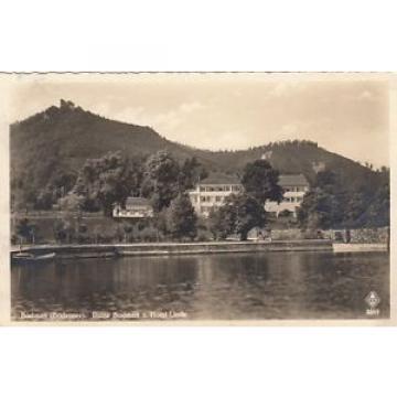 Bodman am Bodensee, Ruine Bodmann und Hotel Linde gl1942 E6739