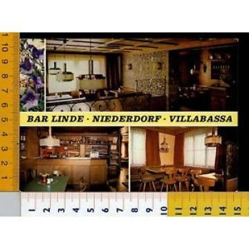 15644] BOLZANO - VILLABASSA - NIEDERDORF - BAR LINDE