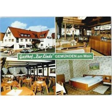 40243616 Gemuenden Main Gemuenden Main Gasthof zur Linde * Gemuenden a.Main