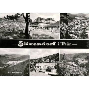 Sitzendorf HO-Hotel zur Linde, Blick ins Schwarzatal, Restaurant, Überblick 1976