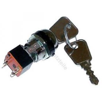 Zündschloss 93201 für Linde (4 Pin, 2 Stellungen) Gabelstapler Hubwagen