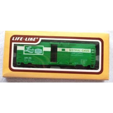 Life-Like HO Scale Railroad Trains Box Car 8475 Linde In Box