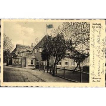 Ak Schierensee in Schleswig Holstein, Gasthaus zur Linde, Ernst... - 1229103
