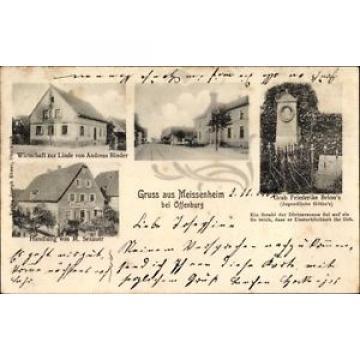 Ak Meissenheim im Ortenaukreis, Wirtschaft Zur Linde, Inh. Andreas... - 1359038