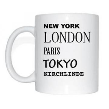 New York, Londres, Paris, Tokyo, KIRCH-LINDE Tasse à café