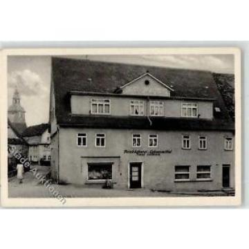 52304181 - Wallduern Lebensmittelhandlung Cafe Linde Josef Leiblein Kirchturm Or
