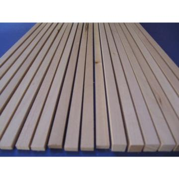 Vierkantleisten Linde  A+B-Ware 10x10mm, 5x10mm  345mm lang