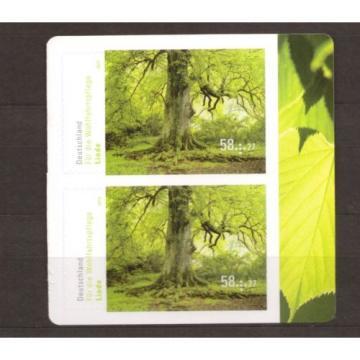 2013 Bund 2986 ** postfrisch Linde SK - Eckrand zum auswählen