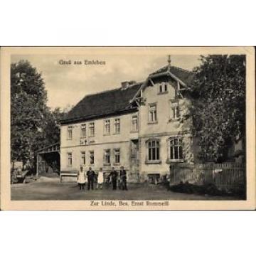 Ak Emleben im thüringischen Landkreis Gotha, Gasthof zur Linde,... - 1384458