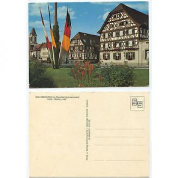 32332 - Oberkirch im Renchtal - Hotel Obere Linde - alte Ansichtskarte