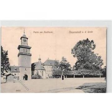 39102832 - Neuenstadt an der Linde. Partie am Stadttrum gelaufen. Marke entfernt