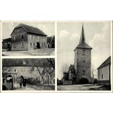 Ak Isseroda Thüringen, Gasthof zur Linde, Bes. A. Randel - 10067614