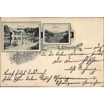 Ak Floh Seligenthal in Thüringen, Gasthof zur Linde, Haderholzgrund - 1396482