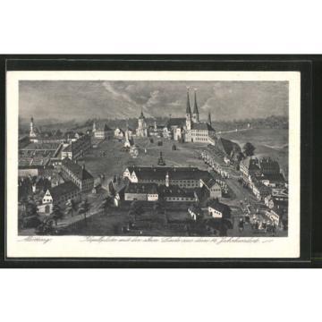 alte AK Altötting, Kapellplatz mit der alten Linde aus dem 16. Jahrhundert