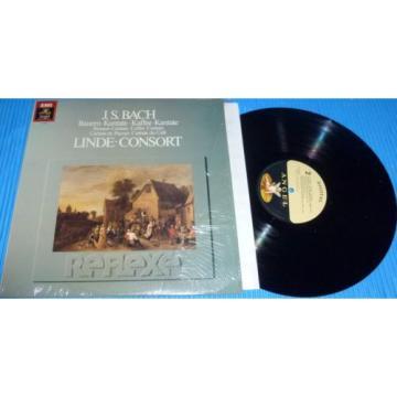 Bach - Peasant Cantata / Linde Consort, Hans-Martin Linde / 1983 EMI Angel Digit
