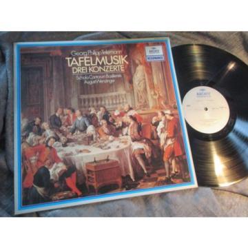 WENZINGER - TELEMANN Table Music 3 CTOs - LINDE BRANDIS, ARCHIV resonance STEREO