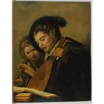 Autografato J. v. del Linde Jr Discorso Bambini Tipo di Rembrandt od. Manico ?