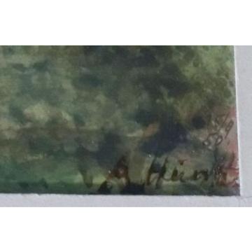 Firmado A. Hundt - Am Linde Del Bosque