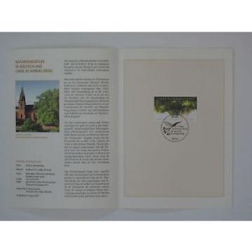 (01j35) Bund Erinnerungsblatt 2001 mit ESST Mi.Nr.  2208 Linde zu Himmelsberg