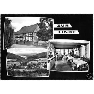 AK, Lippoldsberg Oberweserbergland, Gasthof Zur Linde, drei Abb., um 1965