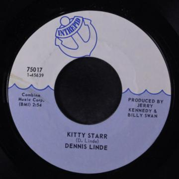DENNIS LINDE: Good Things Stem From Rock & Roll / Kitty Starr 45 Rock & Pop