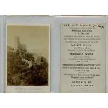 Linde, London CDV vintage albumen carte de visite, Tirage albuminé  6,5x10,5
