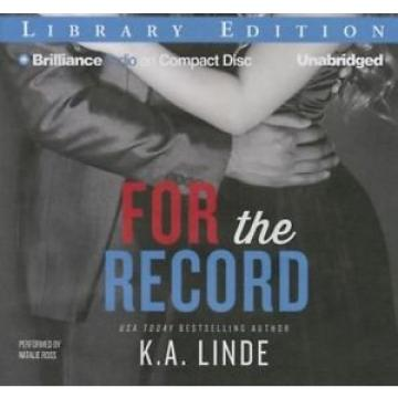 For the Record by K.A. Linde Compact Disc Book (English)