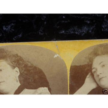 Antique Stereoview Photo Stolze Linde Berlin Bertha Walter Actress Germany