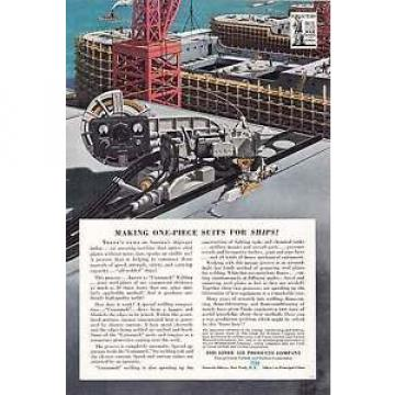 1942 Linde Air Products: One-Piece Suits for Ships (12325)