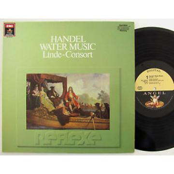 Handel Water Music Linde-Consort NM vinyl gatefold EMI Angel DMM stereo DS-38154