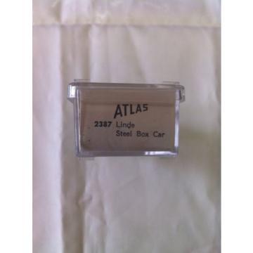 Atlas N Scale Linde Steel Box Car 2387