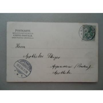 Ansichtskarte Wangenburg Die Linde 1906 Elsass Holzwerk