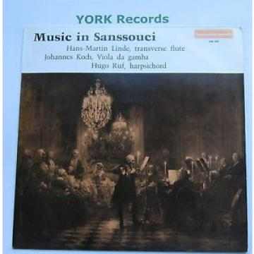 HM 608 - MUISC IN SANSSOUCI - Linde / Koch / Ruf - Excellent Condition LP Record