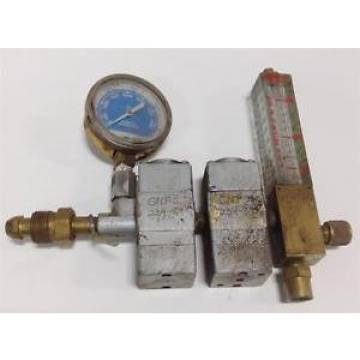 L-TEC CFH OF NITROGEN FLOWETER W/ LINDE GAUGE