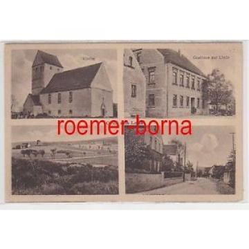 76569 Mehrbild Ak Gruß aus Laas Kirche, Gasthaus zur Linde usw. um 1920