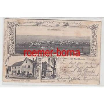 77086 Mehrbild Ak Gruss aus Klettbach Gasthaus zur Linde usw. 1906