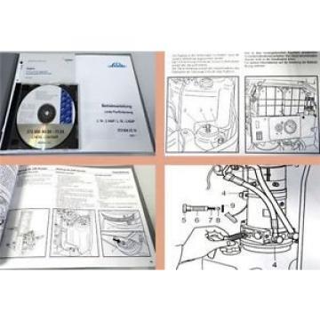 Linde L14 L14AP L16 L16AP Betriebsanleitung + Ersatzteilliste CD 11.2004