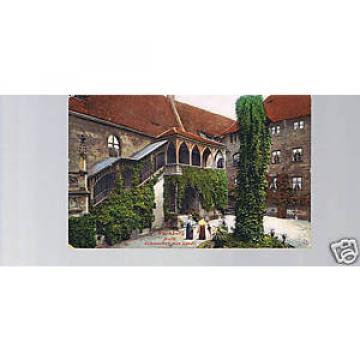 AK Nürnberg Burg Schlosshof mit Linde ( 1911 )