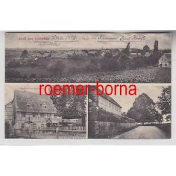 74881 Mehrbild Ak Gruß aus Schönfeld Gasthof, Große Linde, Total 1918