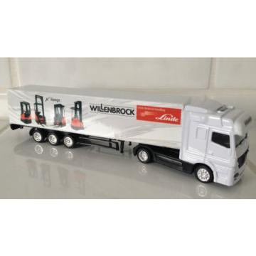 MERCEDES lorry Linde dealer WILLENBROCK  forklift fork lift truck