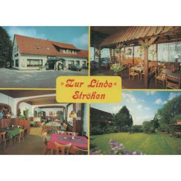 """AK - 49419 STRÖHEN (Wagenfeld),Gasthof """"Zur Linde"""", nicht gel., um 1970 (#21043)"""