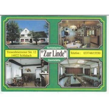 """Ak  SCHLALACH    Gaststätte  """"Zur Linde""""    ( .. 77  239 )   N"""