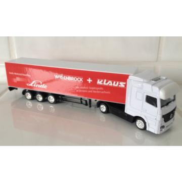 MERCEDES lorry Linde dealer WILLENBROCK + KLAUS forklift fork lift truck