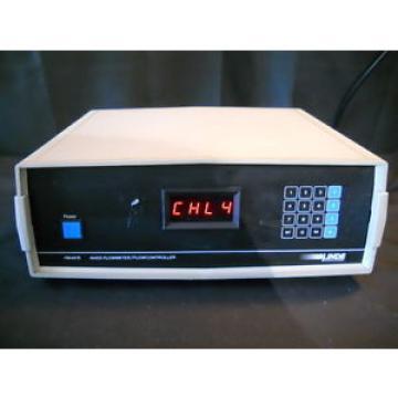 Linde Union Carbide Mass Flow Meter Controller FM4575 Control Four Channel 4 CH