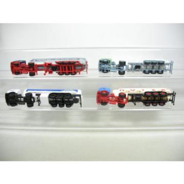 AF233-0,5# 4x Herpa H0 Lorry/LKW Mercedes MB: Linde+Kieserling+Hoyer+Talke