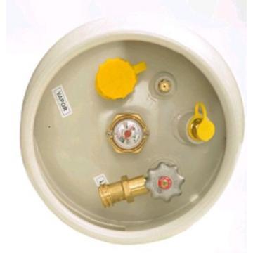 FORKLIFT LPG CYLINDER LP PROPANE TANK 33.5 lbs FORK TRUCK LIFT BOTTLE LINDE TCM
