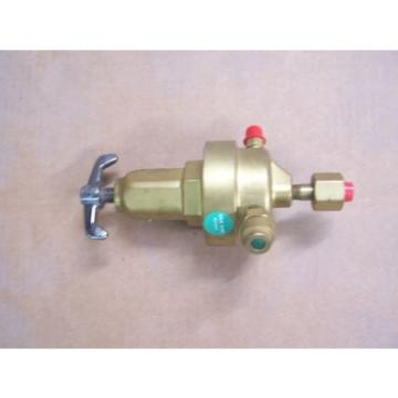 Union Carbide Corp. BRASS Gas/Oxygen Regulator Linde Division