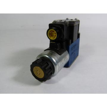 Rexroth 4WE6D62/EG24N9DK25L/62 Solenoid Valve 5100psi 24VDC 125A  WOW